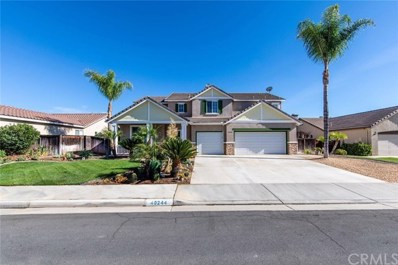 40244 Saddlebrook Street, Murrieta, CA 92563 - MLS#: SW18238807