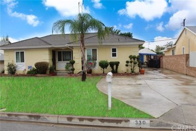 339 N Hartley Street, West Covina, CA 91790 - MLS#: SW18243828