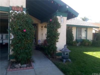 43703 Palm Avenue, Hemet, CA 92544 - MLS#: SW18255227