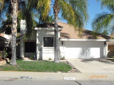 27442 Prominence Road, Sun City, CA 92586 - MLS#: SW18257463