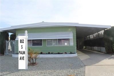 852 S Palm Avenue, Hemet, CA 92543 - MLS#: SW18266813