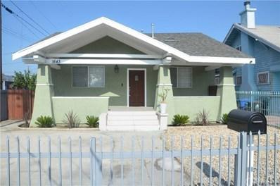 1643 W 48th Street, Los Angeles, CA 90062 - MLS#: SW18270311