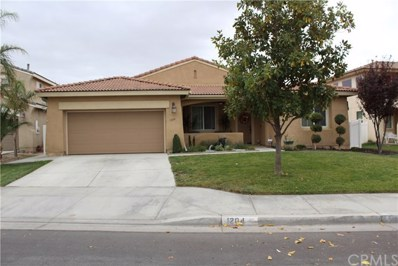 1204 Brush Prairie Cove, San Jacinto, CA 92582 - MLS#: SW18280646