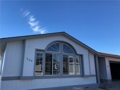 3800 W Wilson Street UNIT 320, Banning, CA 92220 - MLS#: SW19005878