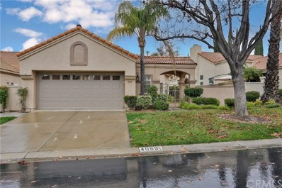 40591 Corte Lucia, Murrieta, CA 92562 - MLS#: SW19011198