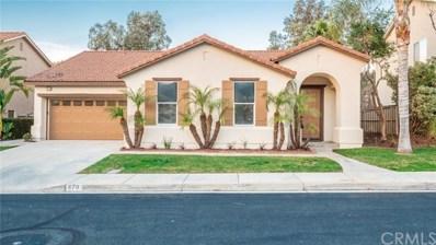 679 Shasta Drive, Corona, CA 92881 - MLS#: SW19038024