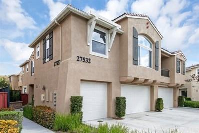 27532 Papillion Street UNIT 1, Murrieta, CA 92562 - MLS#: SW19075526