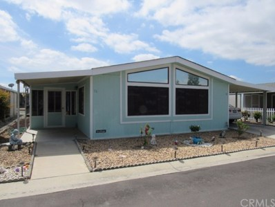 1250 N Kirby Street UNIT 74, Hemet, CA 92545 - MLS#: SW19079049