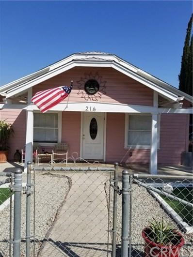 216 N Kellogg Street, Lake Elsinore, CA 92530 - MLS#: SW19087616