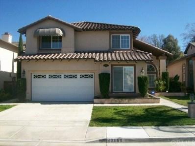42060 Dahlia Way, Temecula, CA 92591 - MLS#: SW19116989