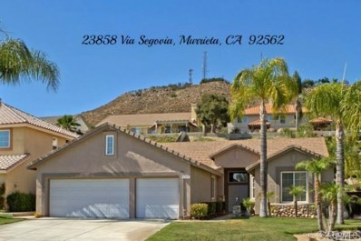 23858 Via Segovia, Murrieta, CA 92562 - MLS#: SW19121280