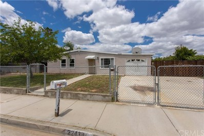 22438 Bertie Avenue, Moreno Valley, CA 92553 - MLS#: SW19125115