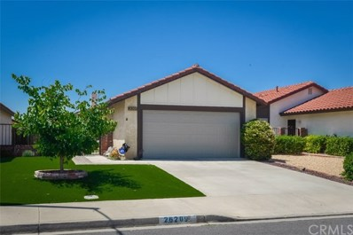 26209 Goldenwood Street, Menifee, CA 92586 - MLS#: SW19128159