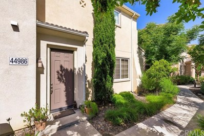 44986 Bellflower Lane, Temecula, CA 92592 - MLS#: SW19134974