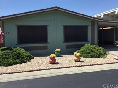 1250 N Kirby Street UNIT 70, Hemet, CA 92545 - MLS#: SW19149840