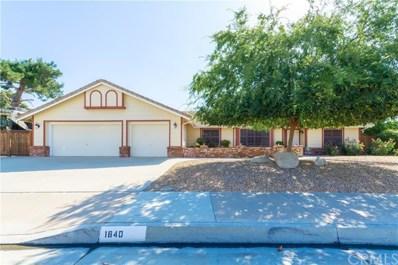 1640 E Beringer Drive, San Jacinto, CA 92583 - MLS#: SW19156380