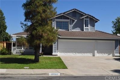 39589 Casandra Court, Murrieta, CA 92563 - MLS#: SW19162006