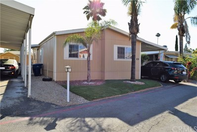 3701 Fillmore Street UNIT 38, Riverside, CA 92505 - MLS#: SW19164846