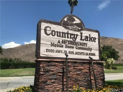 21100 State Street UNIT 45, San Jacinto, CA 92583 - MLS#: SW19189399