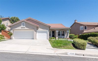 41046 Promenade Chardonnay Hills, Temecula, CA 92591 - MLS#: SW19196217