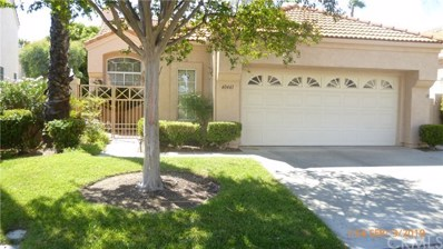 40443 Via Estrada, Murrieta, CA 92562 - MLS#: SW19207447