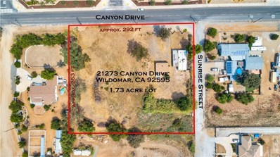 21273 Canyon Drive, Wildomar, CA 92595 - MLS#: SW19216181