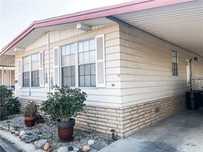 2230 Lake Park Drive UNIT 16, San Jacinto, CA 92583 - MLS#: SW19245500