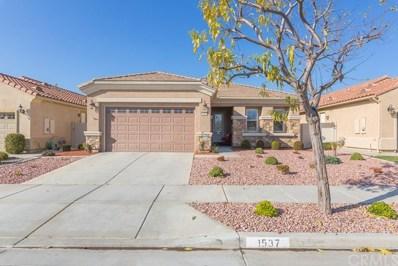 1537 Corte Alamonte, Hemet, CA 92545 - MLS#: SW20008650