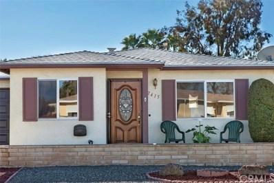 2415 San Arturo Avenue, Hemet, CA 92545 - MLS#: SW20010589