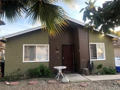 410 El Monte Street, Hemet, CA 92583 - MLS#: SW20017781