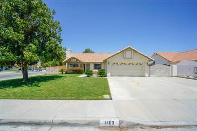 1403 E Beringer Drive, San Jacinto, CA 92583 - MLS#: SW20098695