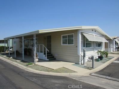 1895 W Devonshire Avenue UNIT 66, Hemet, CA 92545 - MLS#: SW21153874