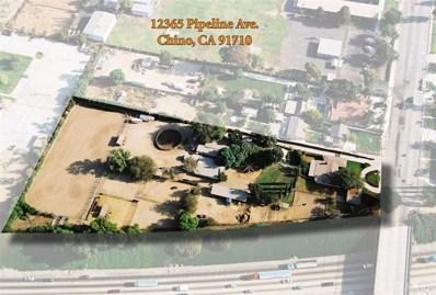12365 Pipeline Avenue, Chino, CA 91710 - MLS#: TR17115562
