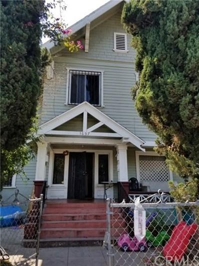 1657 Cimarron Street, Los Angeles, CA 90019 - MLS#: TR17187784