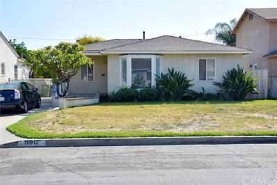 10912 Dicky Street, Whittier, CA 90606 - MLS#: TR17207416