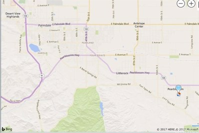 123 Vac\/Cor Avenue W4 Drt \/123 Ste, Pearblossom, CA 93553 - MLS#: TR17245717