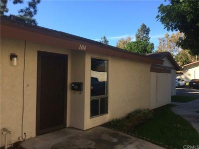 1414 Fredericks Lane, Upland, CA 91786 - MLS#: TR17253814