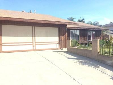 3012 Jacqueline Drive, West Covina, CA 91792 - MLS#: TR18012953