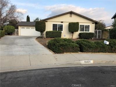19431 Baelen Street, Rowland Heights, CA 91748 - MLS#: TR18018249