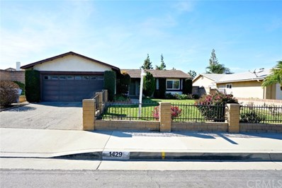 1429 Delamere Drive, Rowland Heights, CA 91748 - MLS#: TR18029083