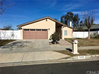 1443 Granada Avenue, Corona, CA 92880 - MLS#: TR18042112