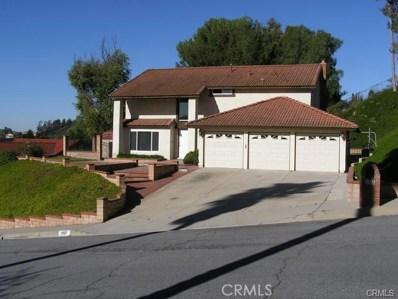 1481 Deerfoot Drive, Diamond Bar, CA 91765 - MLS#: TR18046429