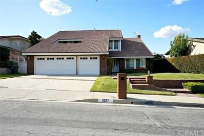 2287 Oldridge Drive, Hacienda Hts, CA 91745 - MLS#: TR18048668