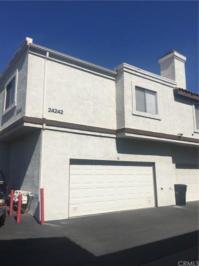 24242 Sylvan Glen Road UNIT G, Diamond Bar, CA 91765 - MLS#: TR18087712