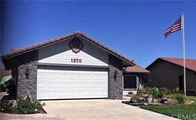 1370 Seven Hills Drive, Hemet, CA 92545 - MLS#: TR18102066