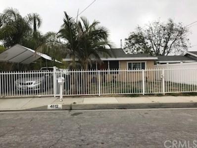 4812 Lante Street, Baldwin Park, CA 91706 - MLS#: TR18125781