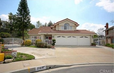 21810 Huckleberry Circle, Walnut, CA 91789 - MLS#: TR18147919