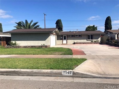 1147 W Primrose Drive, Orange, CA 92868 - MLS#: TR18237920