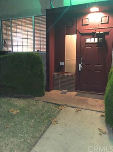 4045 Abourne Road UNIT D, Los Angeles, CA 90008 - MLS#: TR18277315