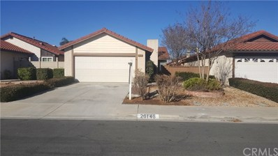 26146 Shadywood Street, Sun City, CA 92586 - MLS#: TR19001117